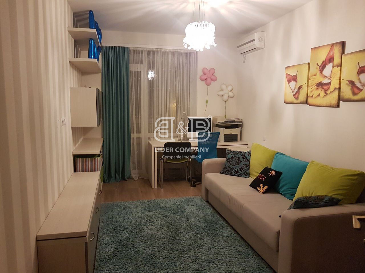 Spre chirie, str. Constantin Vârnav ! Telecentru ! apartament cu 2 camere separate 85 m2