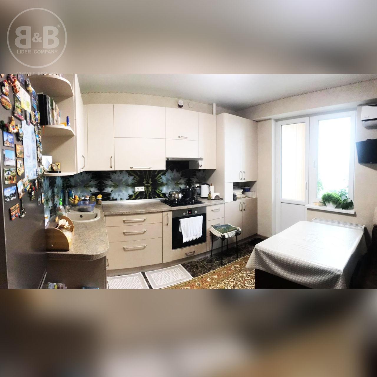 Apartament spațios 81 m2 cu 2 camere separate str. Florilor , Rîșcani