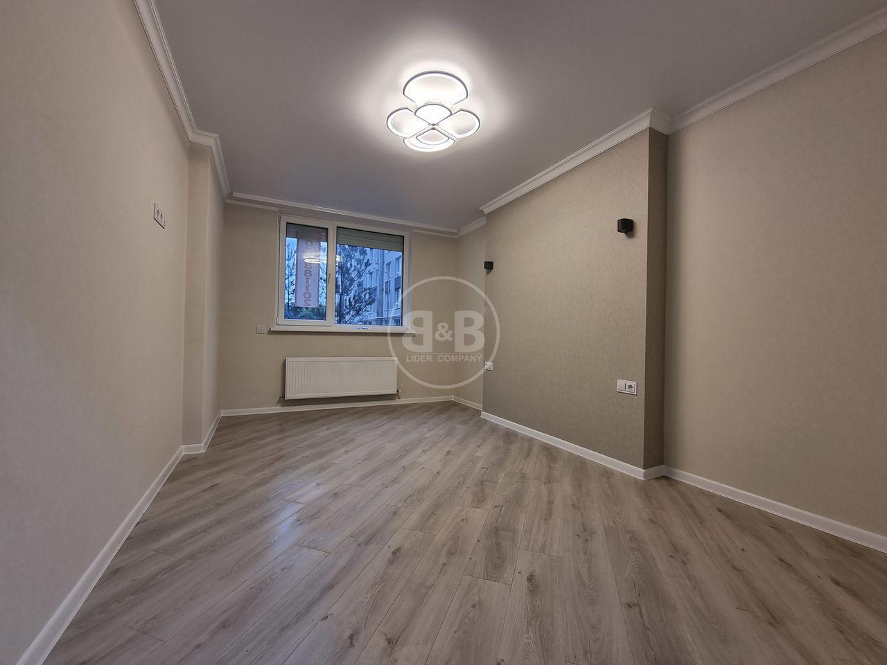 Apartament în bloc nou cu 2 camere str. Andrei Doga Rîșcani reparat