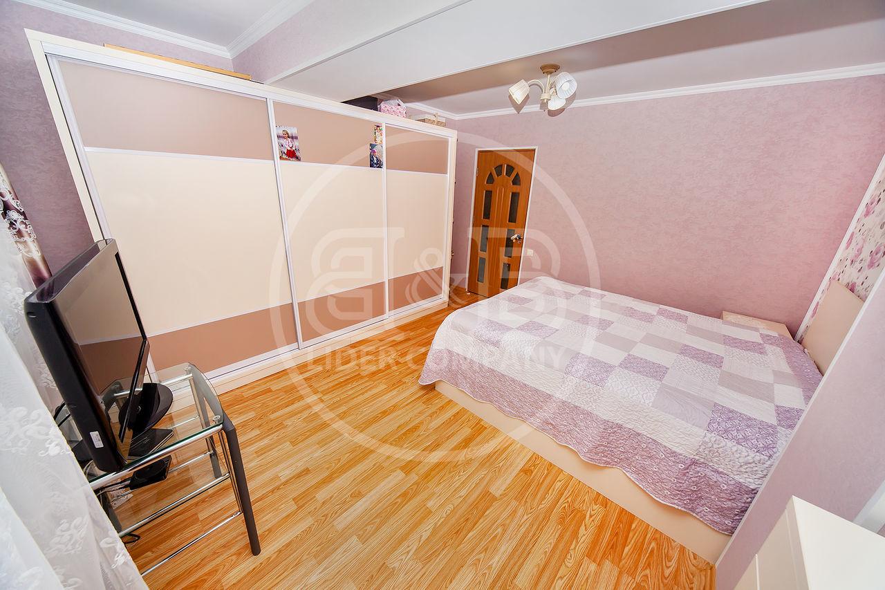 Vânzare apartament 2 camere + living mobilat , reparat Stăuceni, str. Unirii