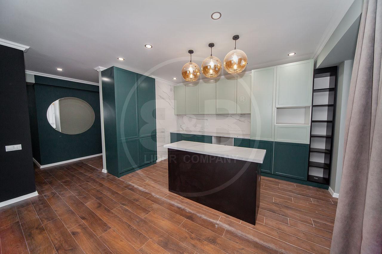 Apartament cu design unic, 2 camere + Living! Buiucani!