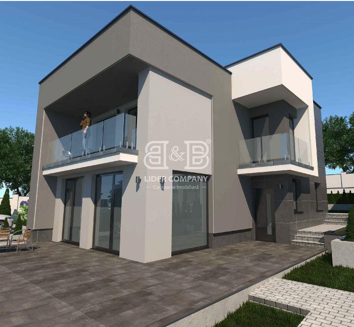 Vânzare casă stil Hi-Tech,155,6 mp, proiect exclusiv, Bubuieci posibil în rate