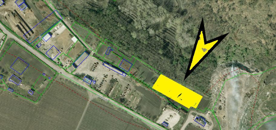 Lot de pământ amplasat în Stăuceni str. Industrială cu 41,39 ari pentru construcție