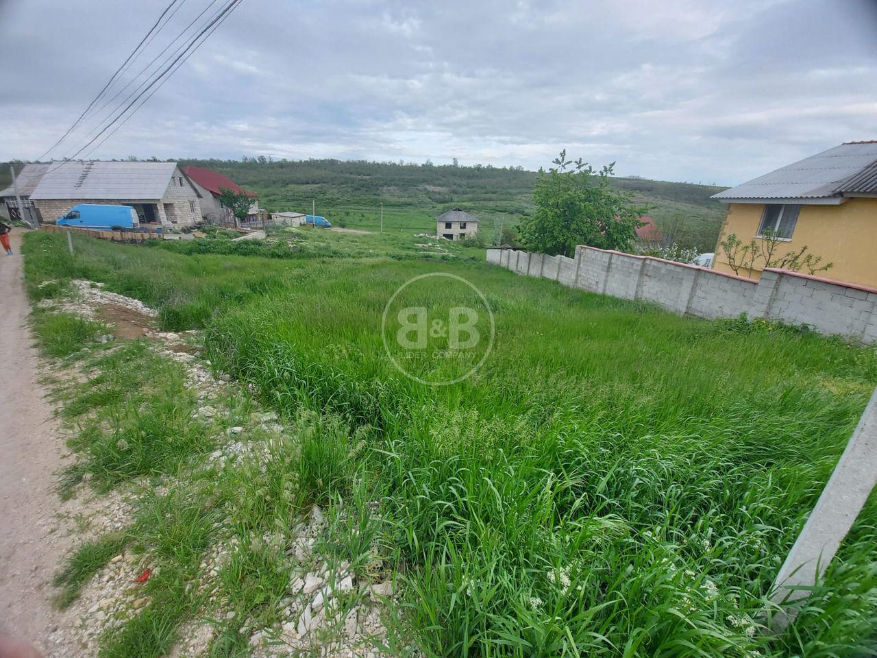 Lot de pământ cu suprafața de 8 ari, Bubuieci str. Mihai Viteazu pentru construcție+proiect de casă