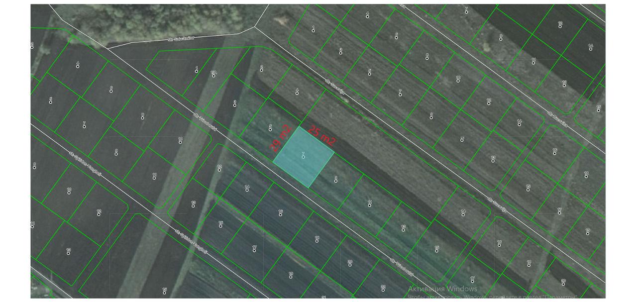 Se vinde lot de pământ cu suprafața de 6,7 ari pentru construcție s. Cheltuitorilor Tohatin