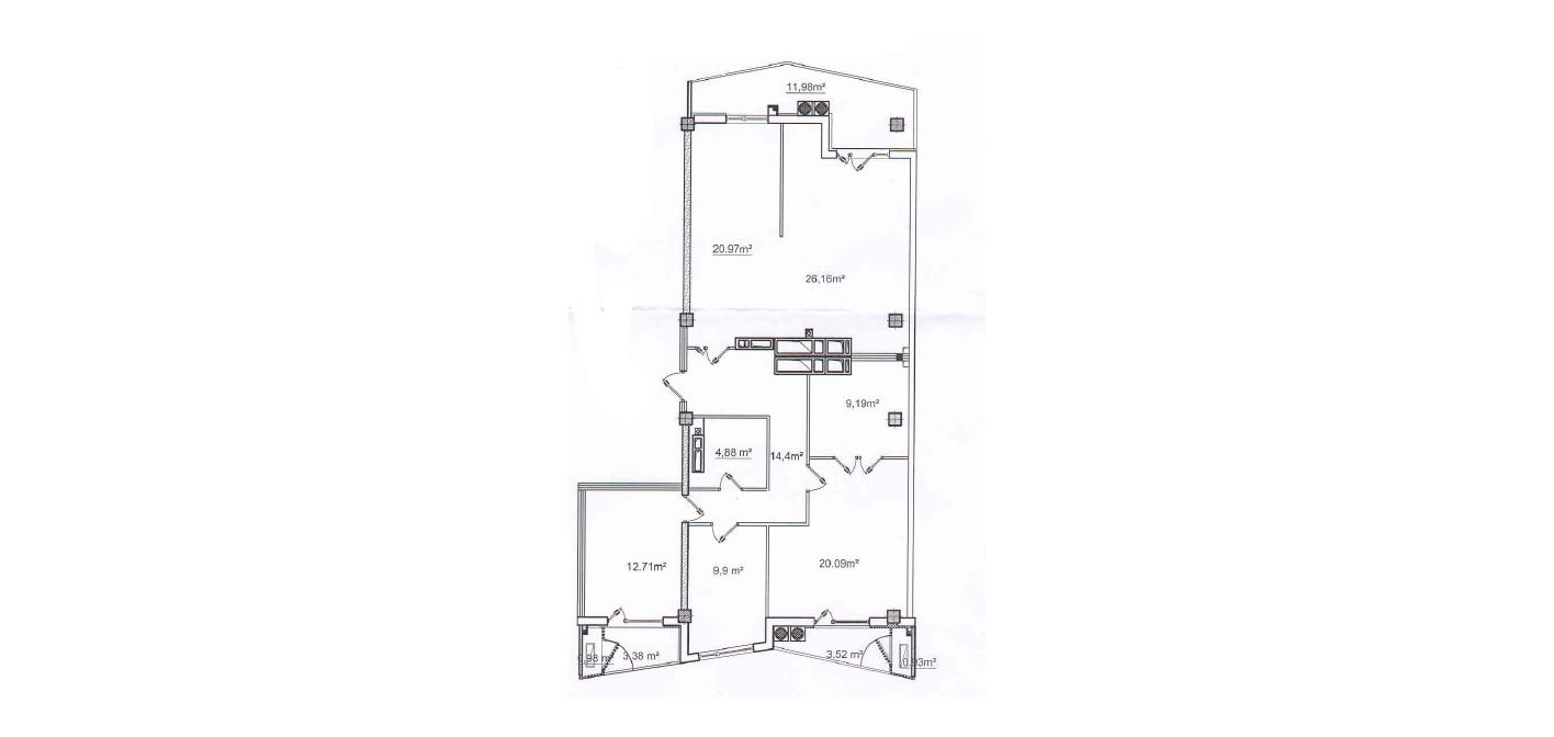 Complex Rezidențial Oasis! str. Bogdan Voievod, Râșcani, 139 m2 Variantă albă!