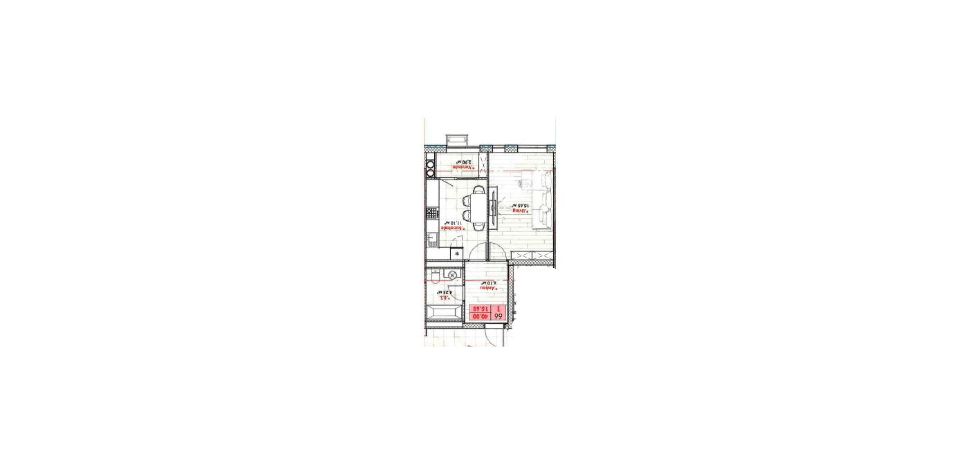 Vânzare apartament 1 cameră, versiune albă, Rîșcani, Lagmar, 33999 euro!