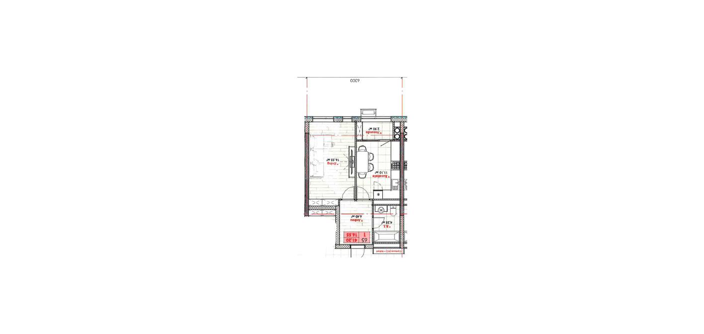 Vânzare apartament 1 cameră 41 m2 versiune albă, Lagmar, Rîșcani direct de la dezvoltator 850 euro /m
