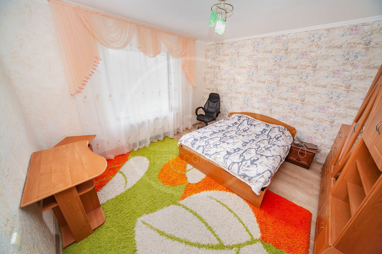 Vânzare casă, str. Miorita Stăuceni în 2 nivele 160 m2 mobilată și teren de 6 ari