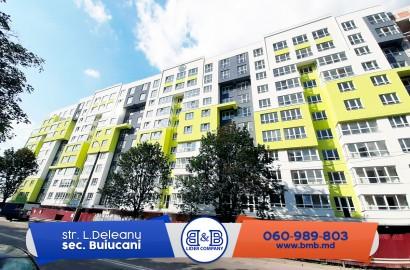 Lagmar! Apartament cu 3 camere separate varianată albă direct de la dezvoltator 700  euro/m2