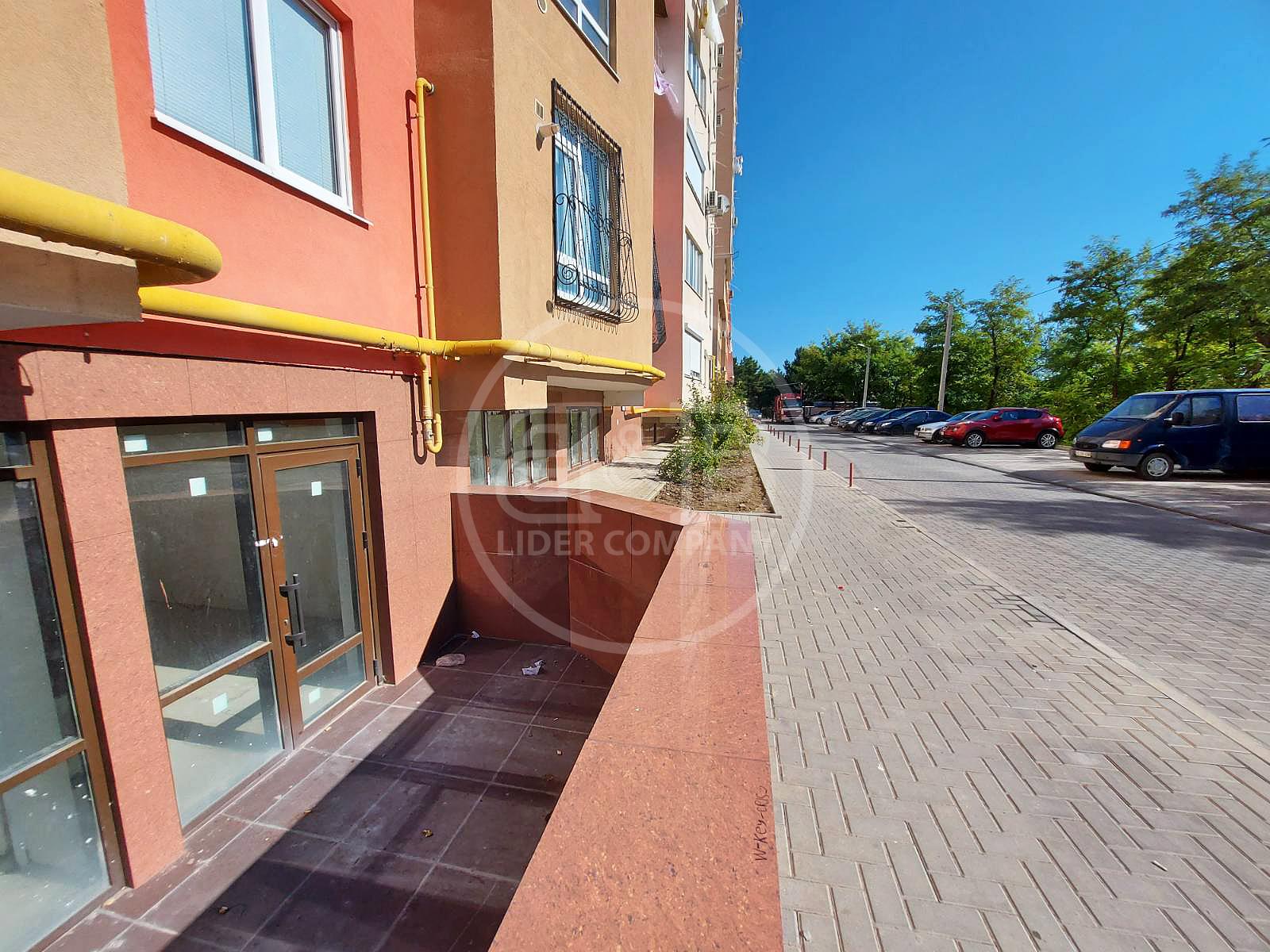 Spațiu Comercial 138,4m2! str. Ginta Latină, Ciocana, Prima linie 550 euro/m2