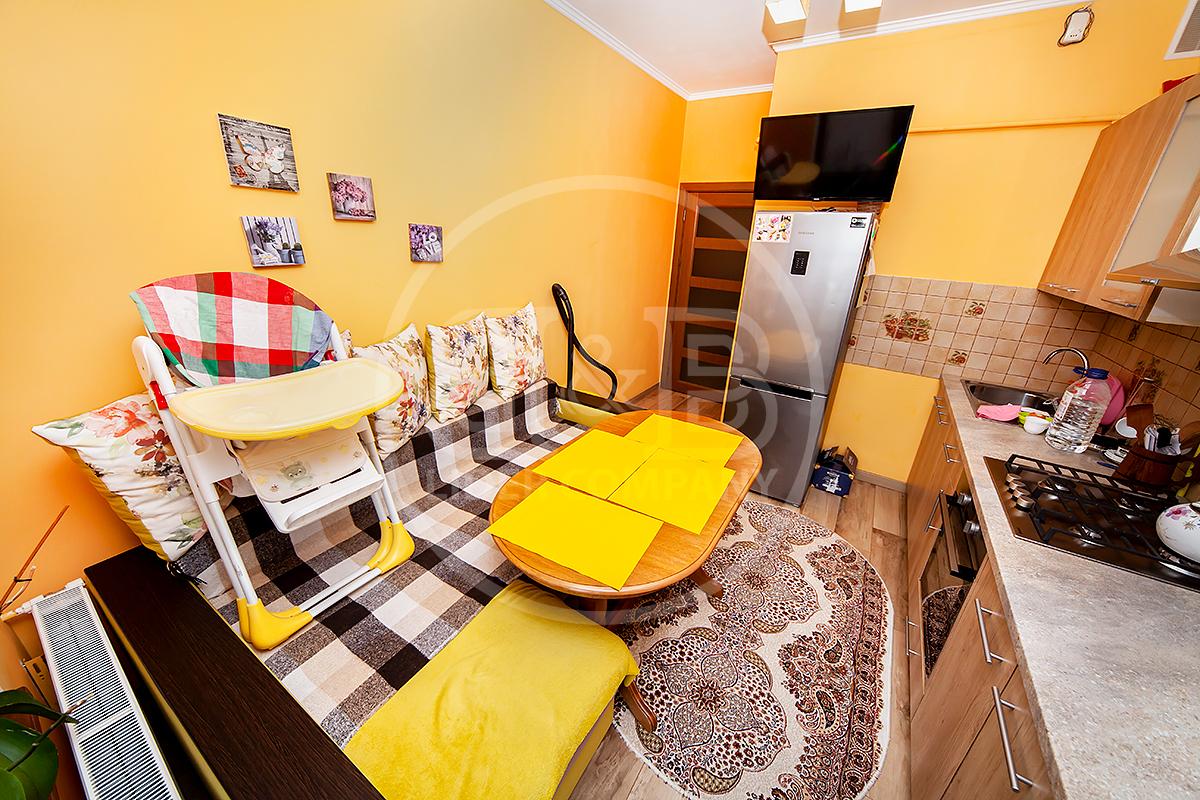 Apartament cu 1 cameră 37 m2 mobilat sectorul Botanica , str. Cuza Vodă