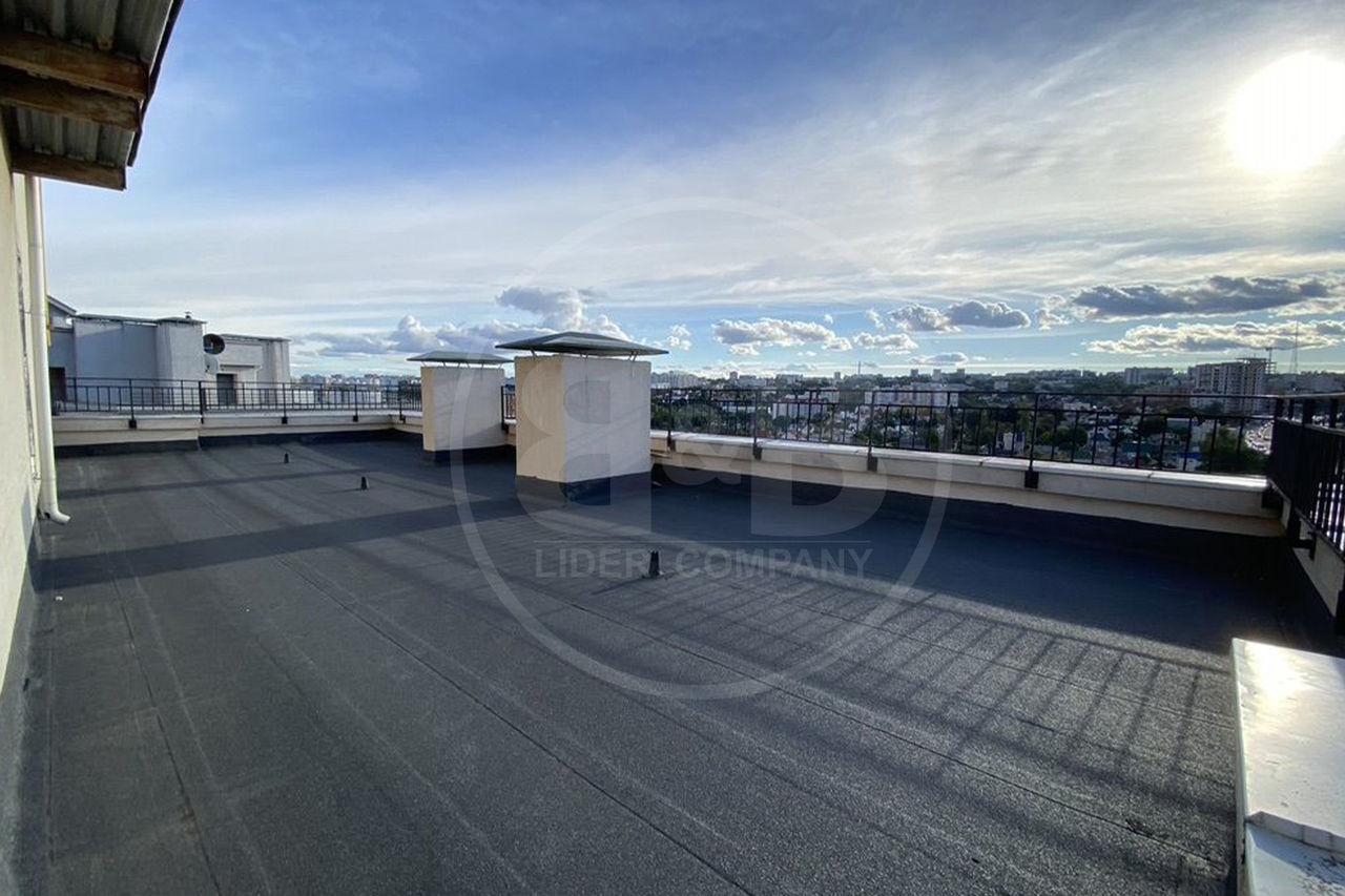 Penthouse cu vedere impresionanta 103 m2 + Terasă Centru str. Lev Tolstoi