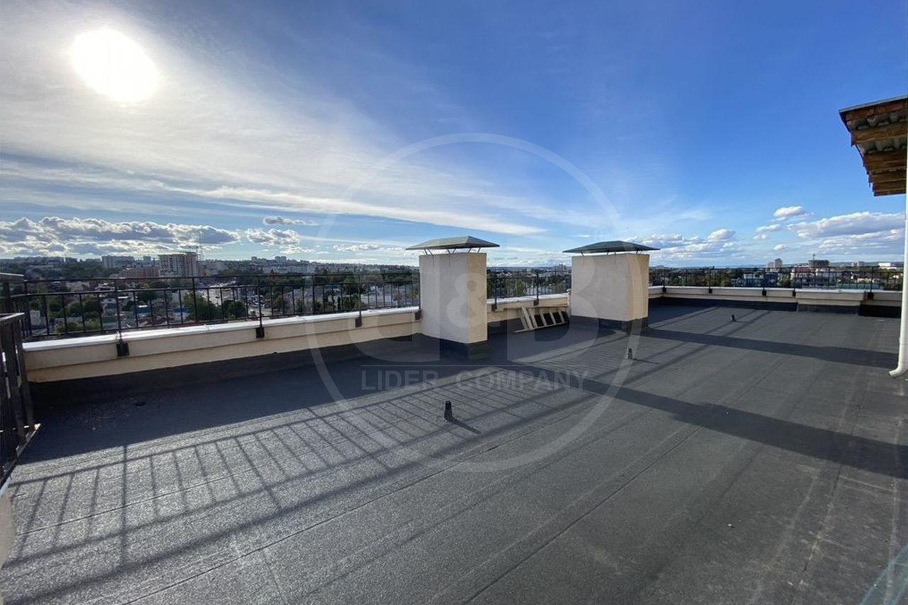 Penthouse! Centru 2 camere Variantă albă! Panoramă