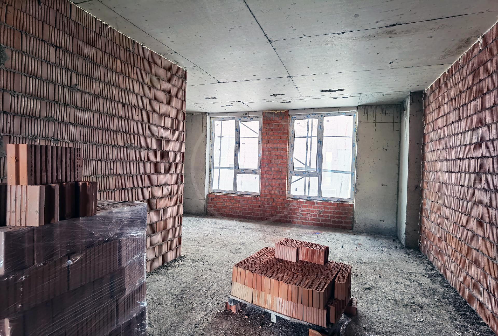 Estate Palace Centru - apartament cu 2 camere+ living variantă albă