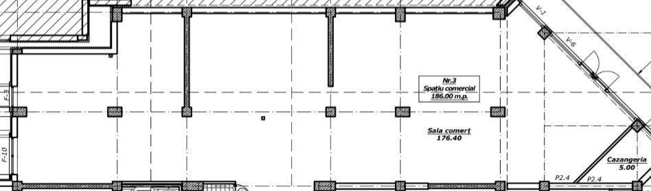 186 m2! botanica! spațiu comericial de vânzare cu infrastructură dezvoltată!