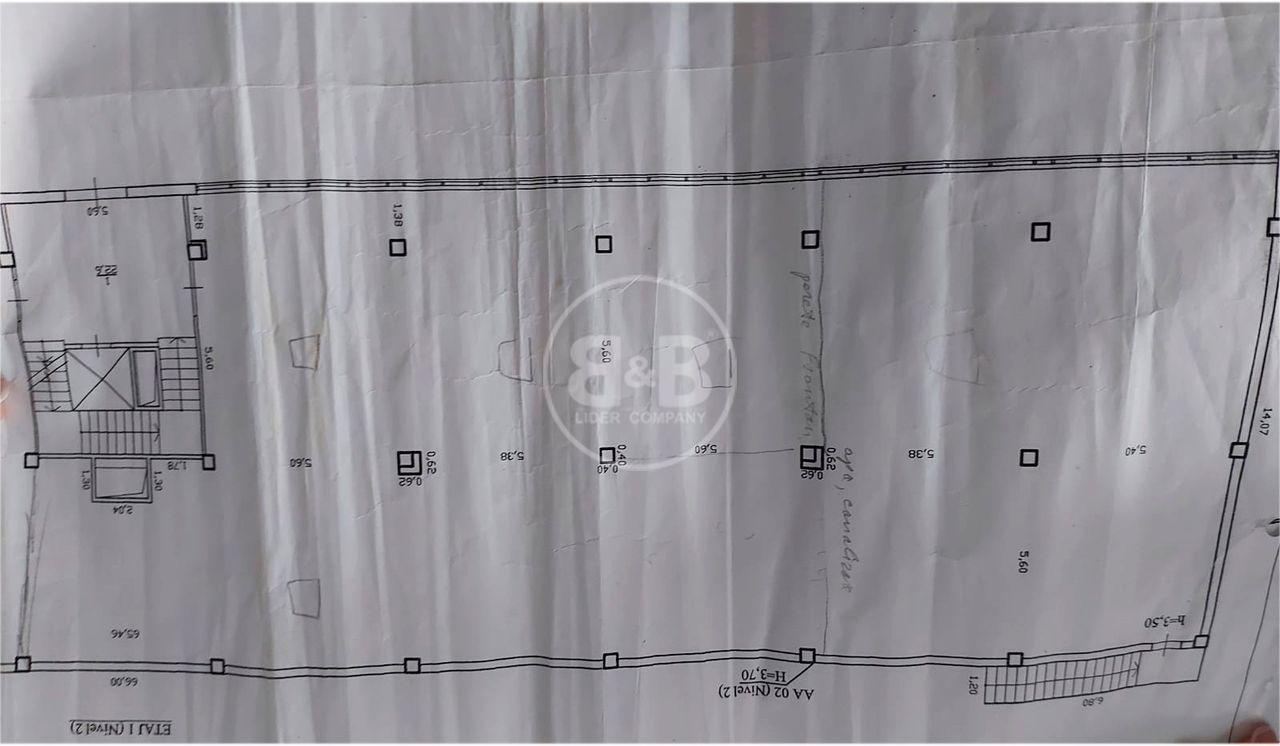 Comercial varianta alba 432m Str Petricani Open Space
