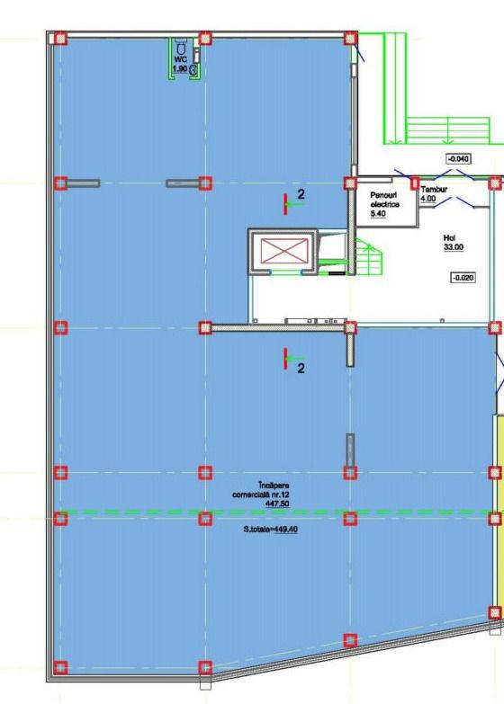 Spațiu comercial 447 m2 Super oferta m2 !