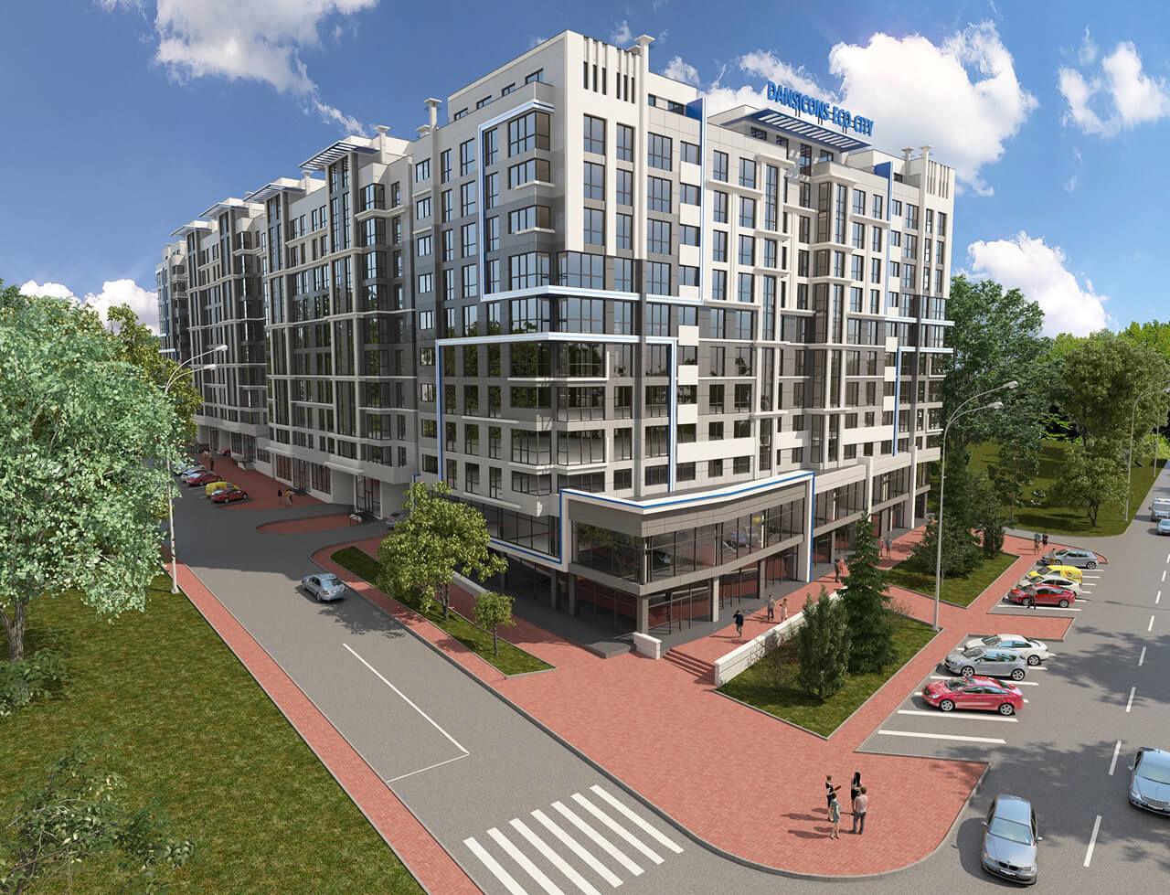 Eco city! spațiu comercial în bloc nou