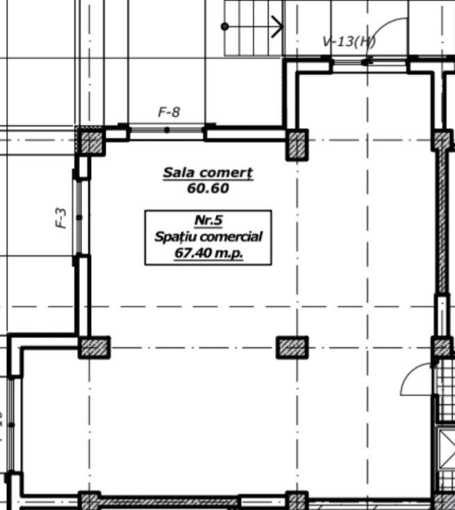 Se vinde spatiu comercial 67 m2, sectorul Botanca, str.Decebal !