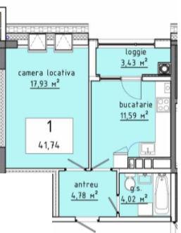 Apartament la cheie cu 1 cameră !! Stăuceni!!!